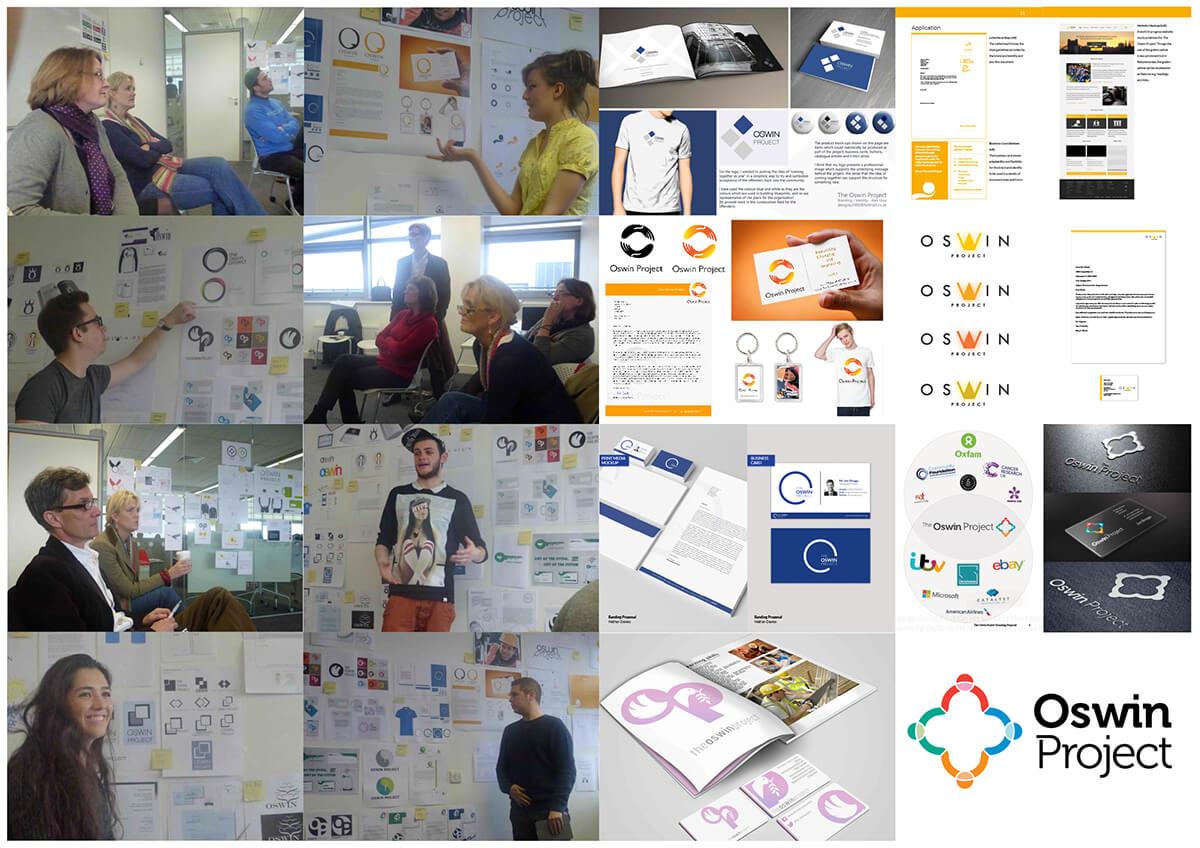 Oswin Identity design presentation